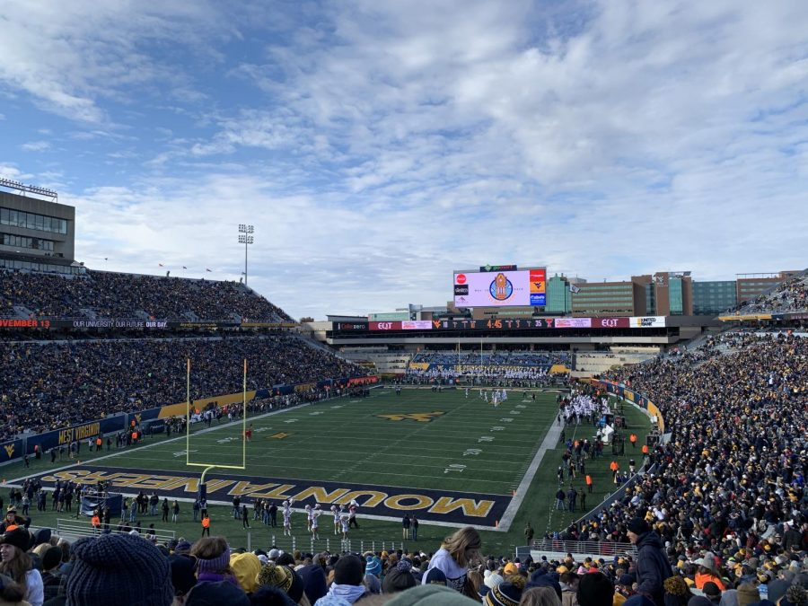 James Monroe FCA Attends WVU Football Game